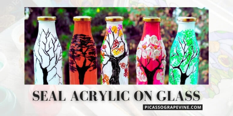 Easy Guide to Sealing Acrylic Paint on Glass
