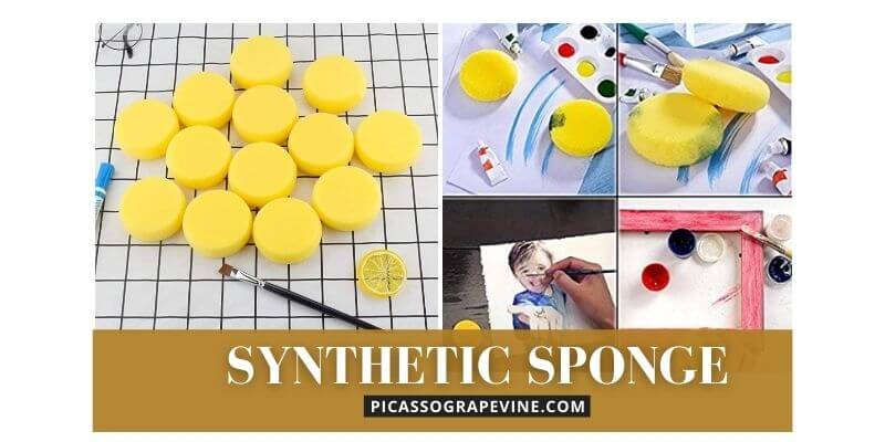 Synthetic Sponge Artist Sponge for Painting and Craft